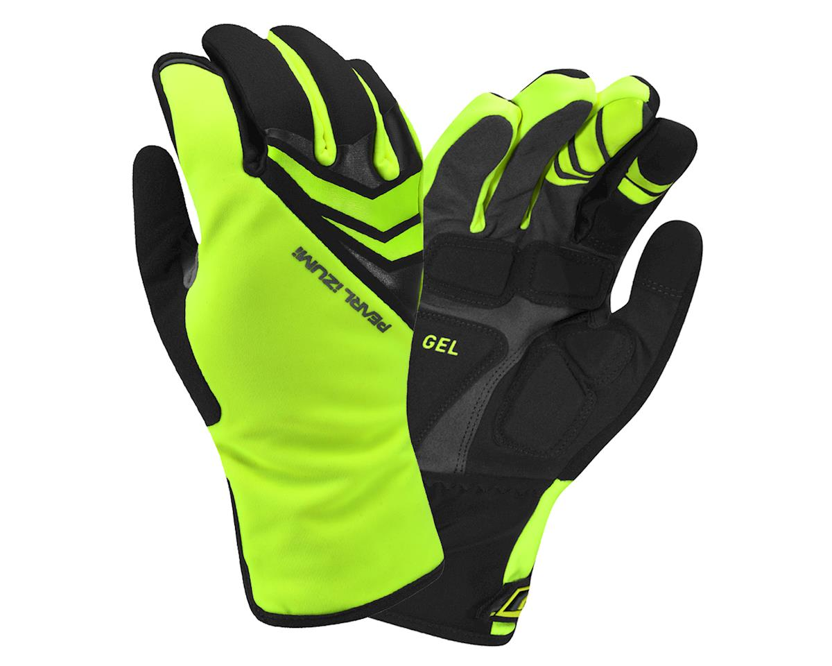 Pearl Izumi Elite Softshell Gel Gloves (Screaming Yellow) (L)