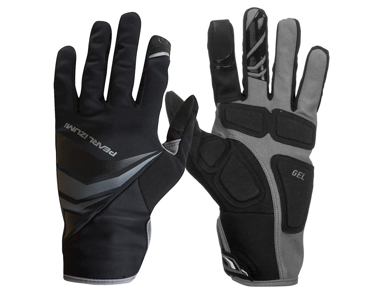 Pearl Izumi Cyclone Gel Full Finger Cycling Gloves (Black) (M)