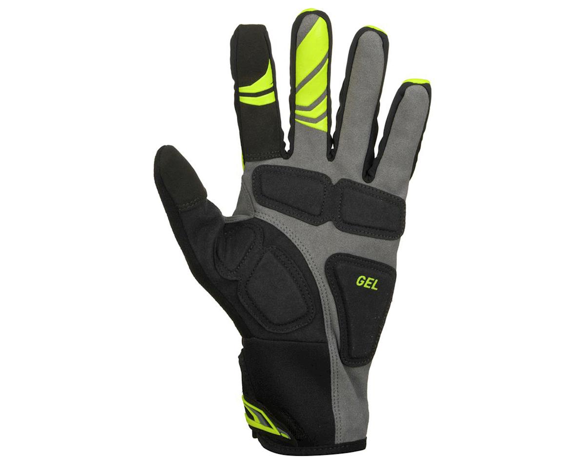 Pearl Izumi Cyclone Gel Full Finger Cycling Gloves (Screaming Yellow) (L)