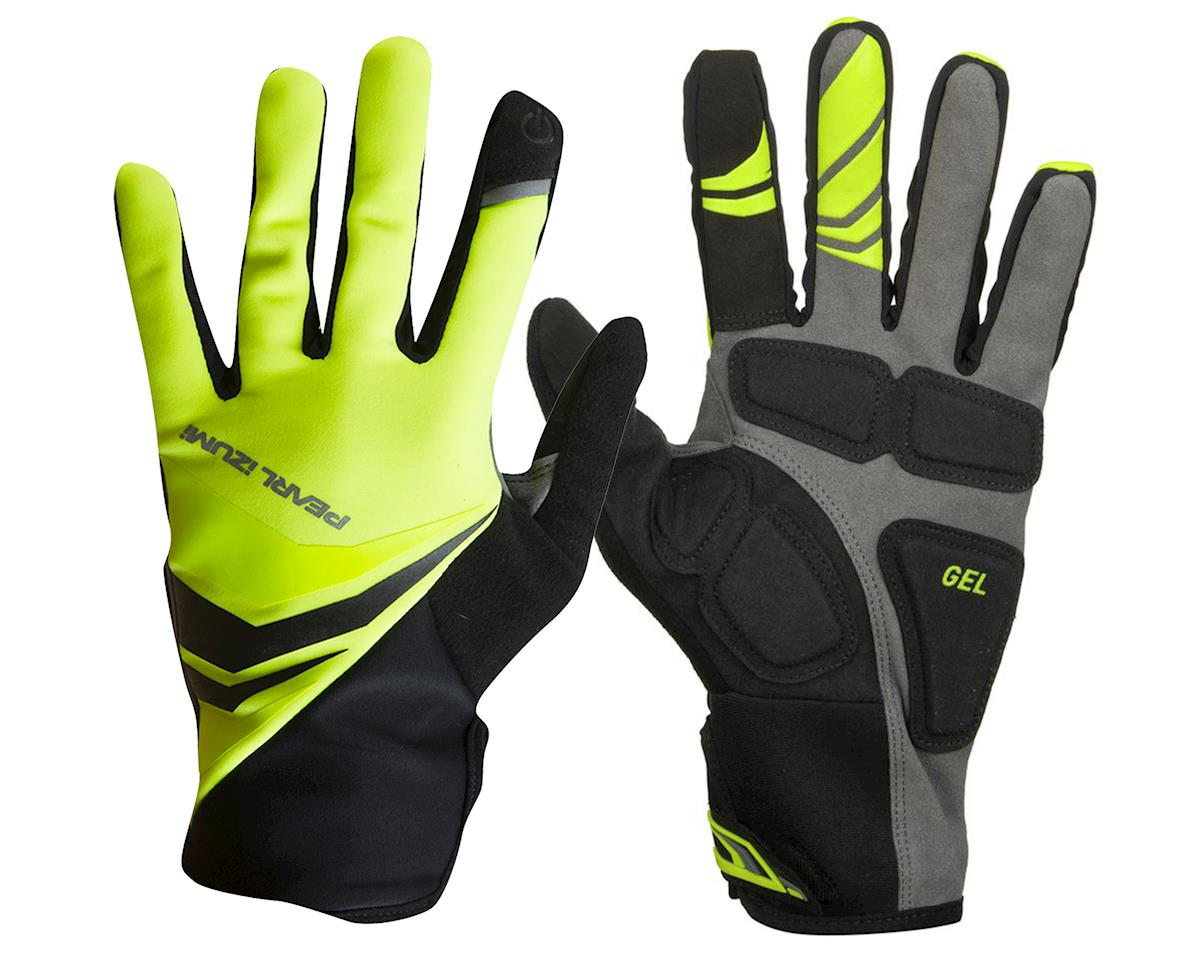 Pearl Izumi Cyclone Gel Full Finger Cycling Gloves (Screaming Yellow) (S)
