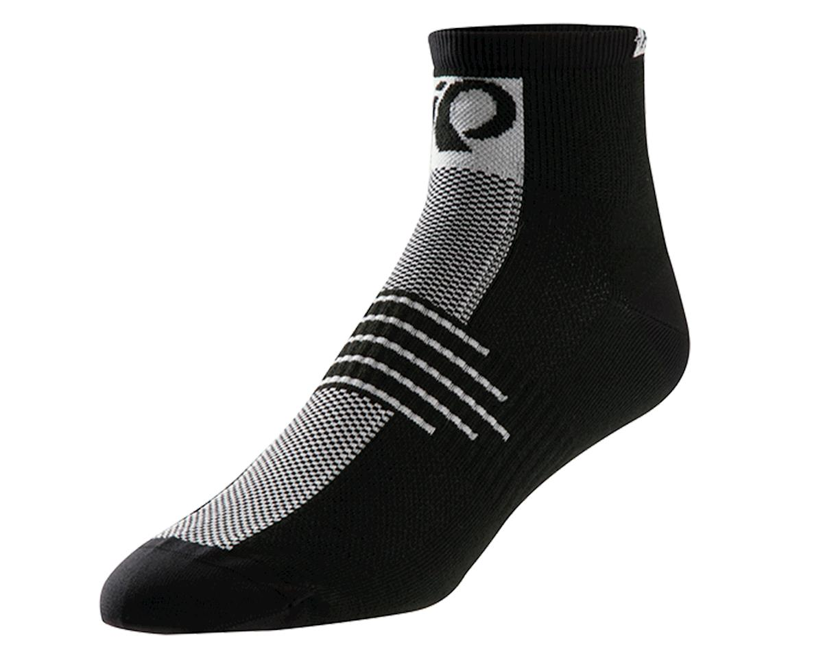 Pearl Izumi Elite Low Cycling Socks (Black/White)