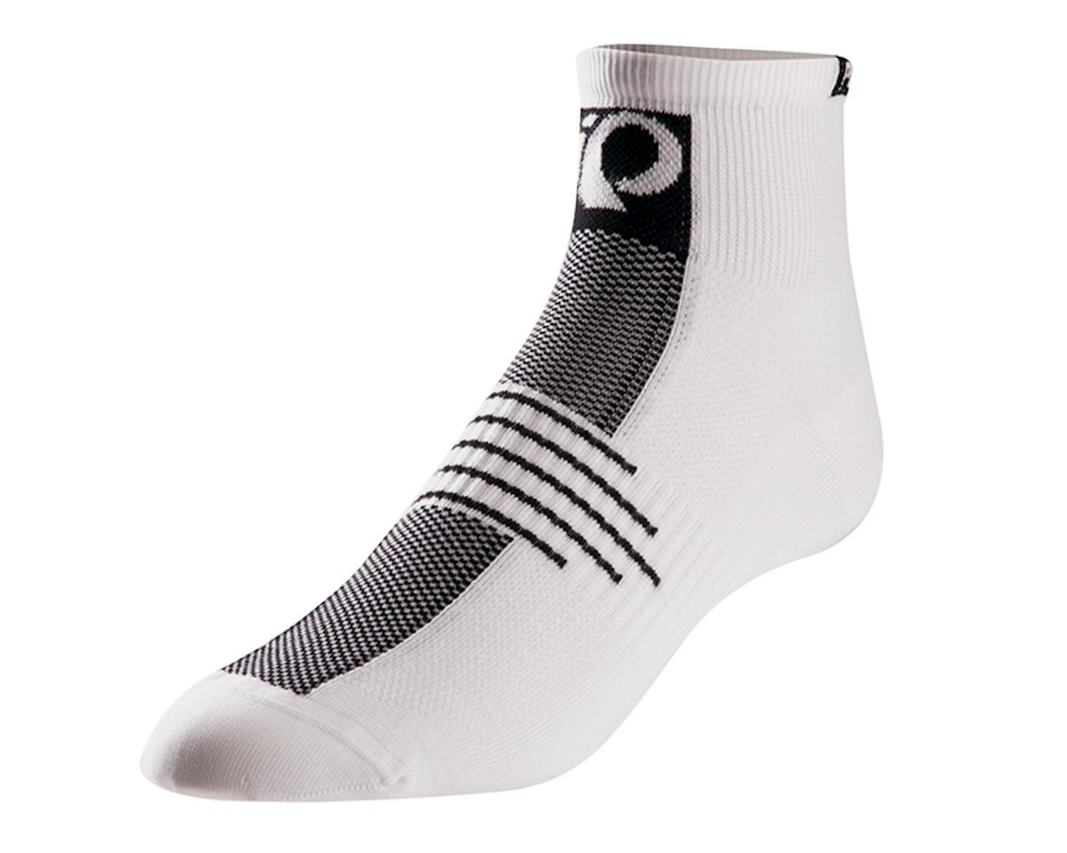Pearl Izumi Elite Low Cycling Socks (White)