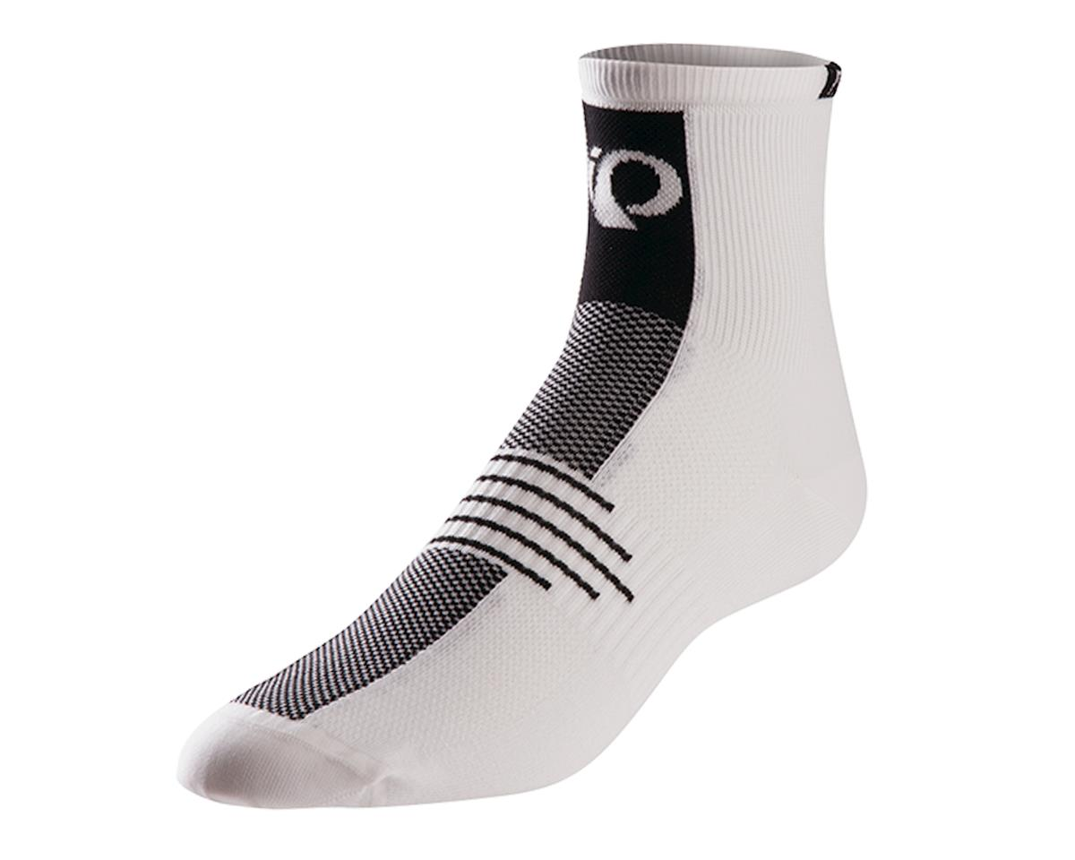 Pearl Izumi Elite Cycling Socks (White) (XL)