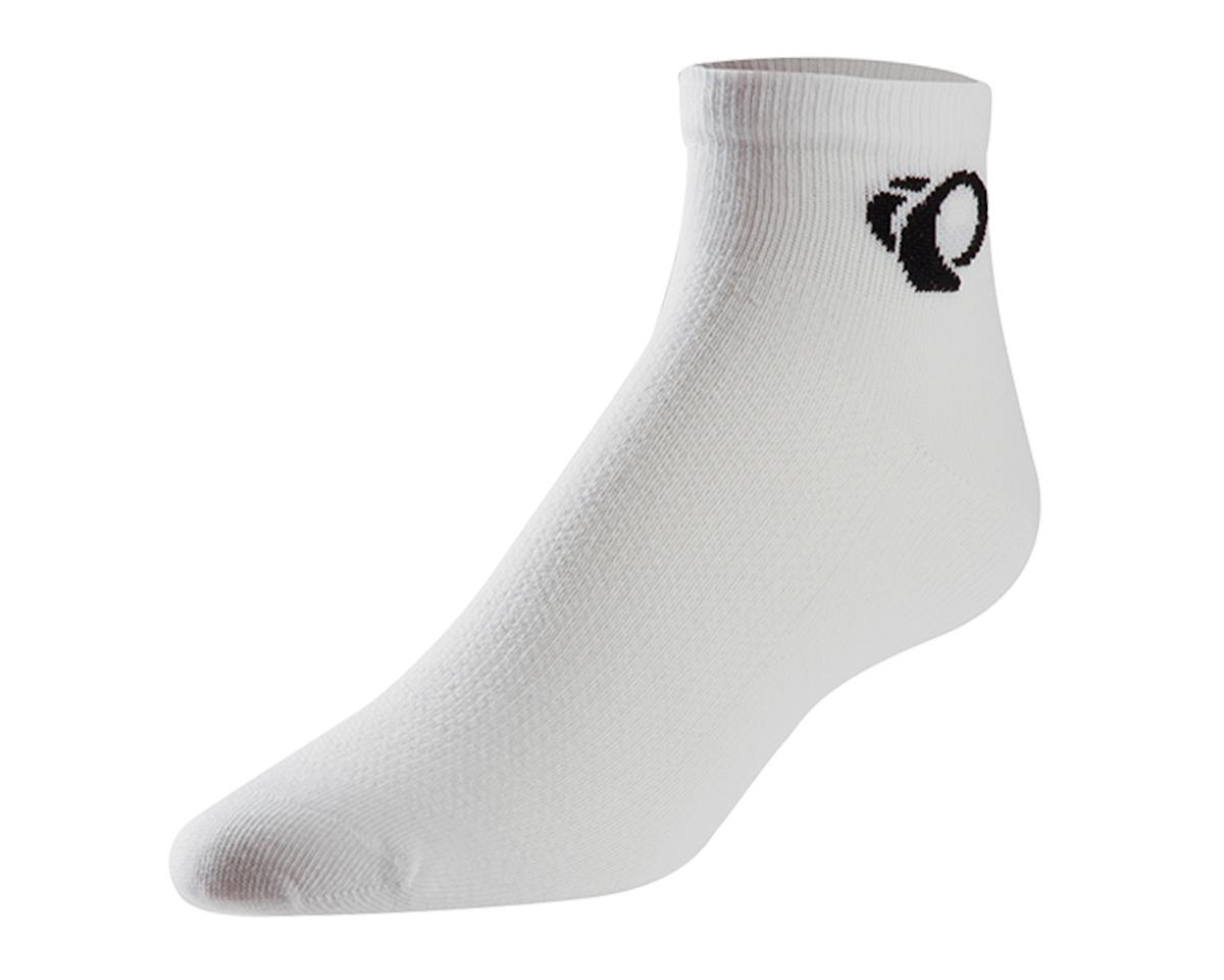 Pearl Izumi Attack Low Cycling Socks (White) (XL)
