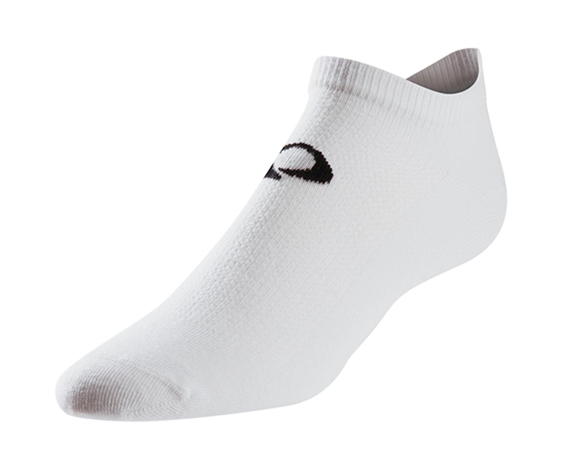 Pearl Izumi Attack No Show Cycling Socks (White)