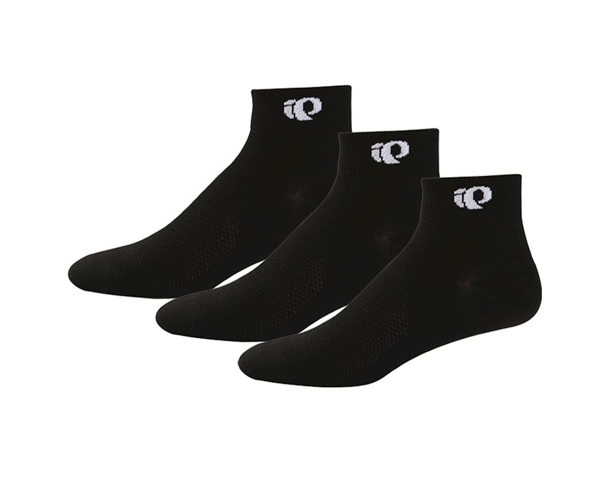 Pearl Izumi Attack Sock 3-Pack: Black~ Lg