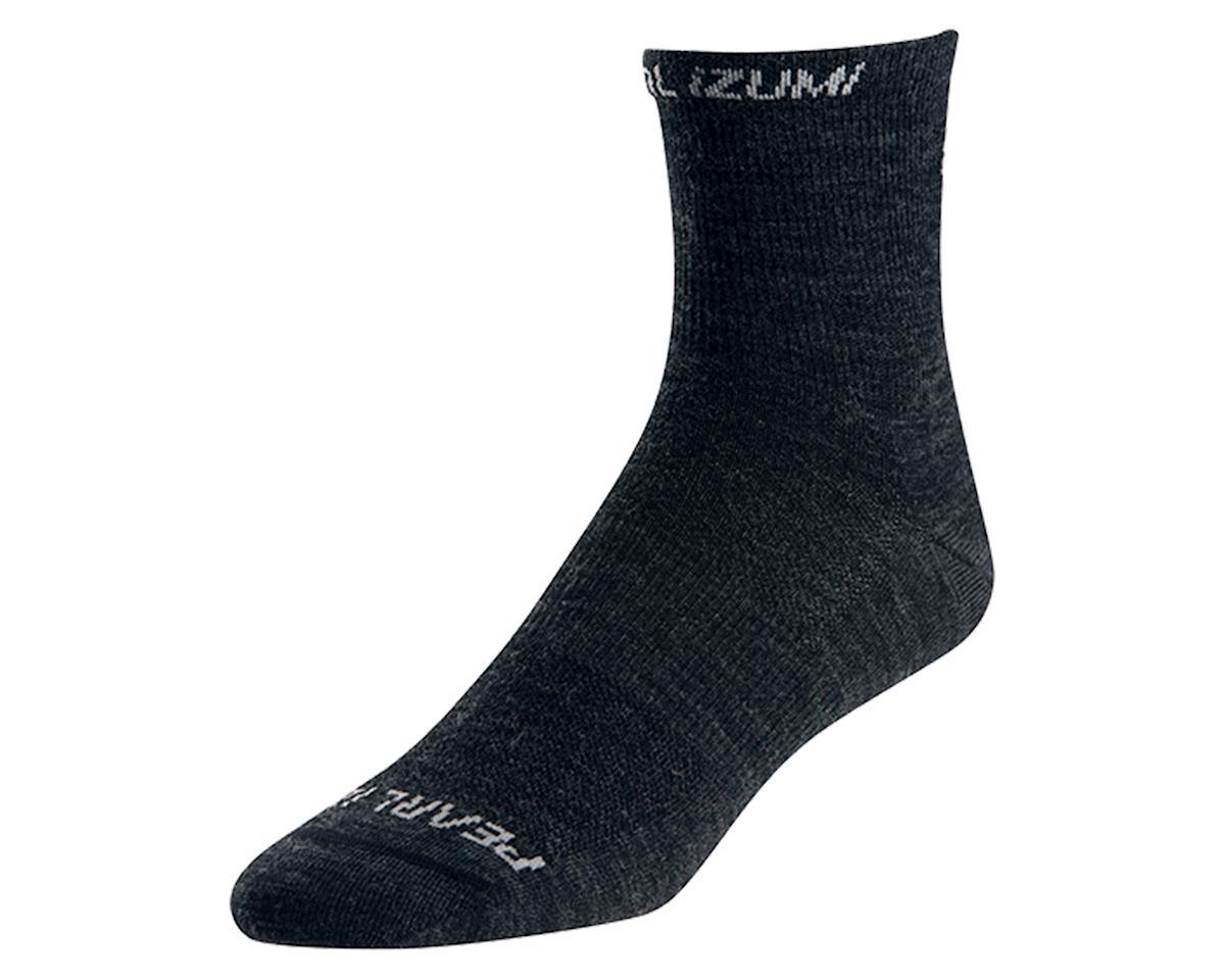 Pearl Izumi Elite Wool Sock (Black) (L)