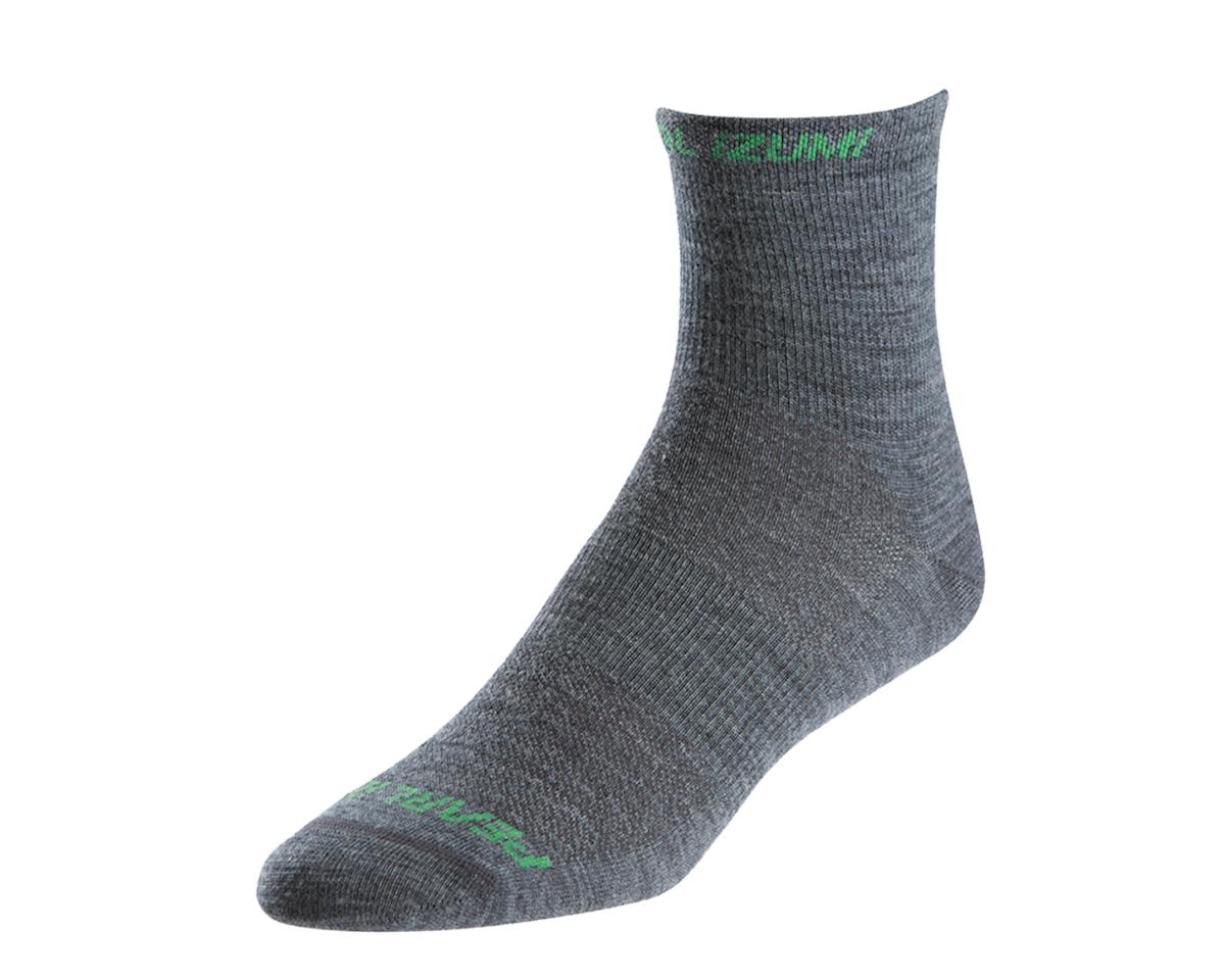 Pearl Izumi Elite Wool Sock (Grey) (L)