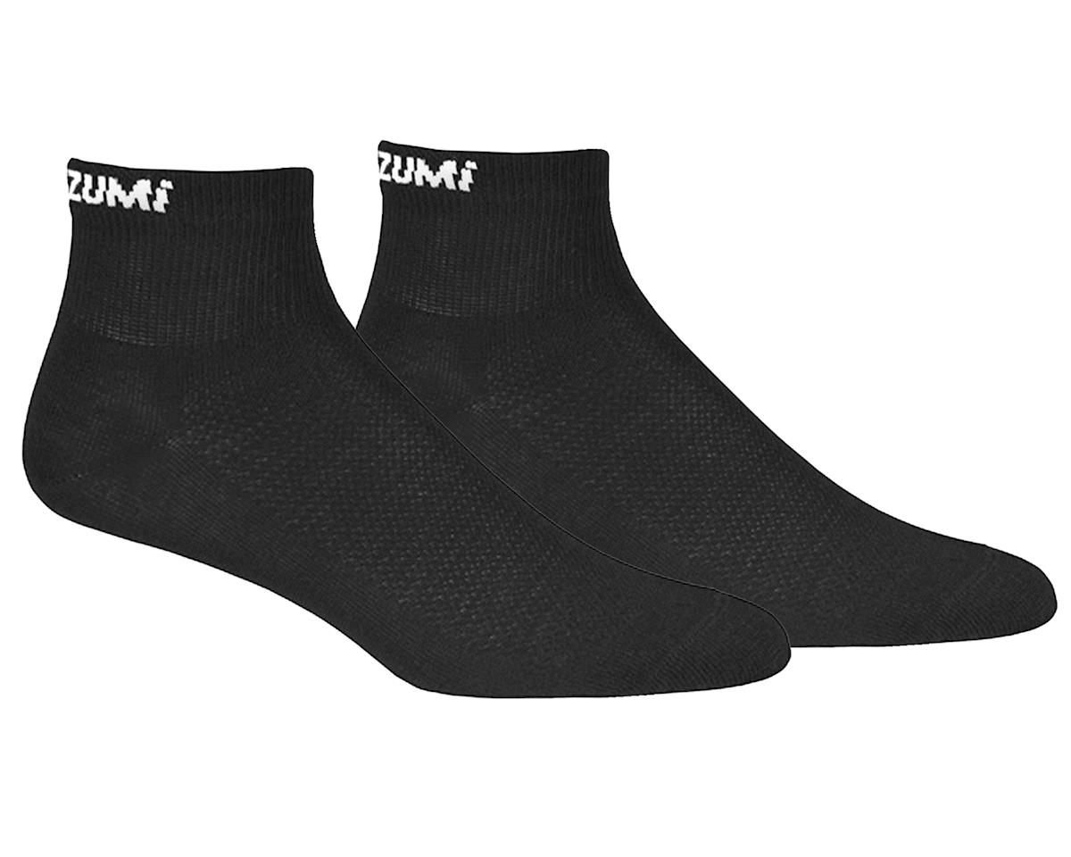 Pearl Izumi Attack Low Sock (Black) (3 pack)