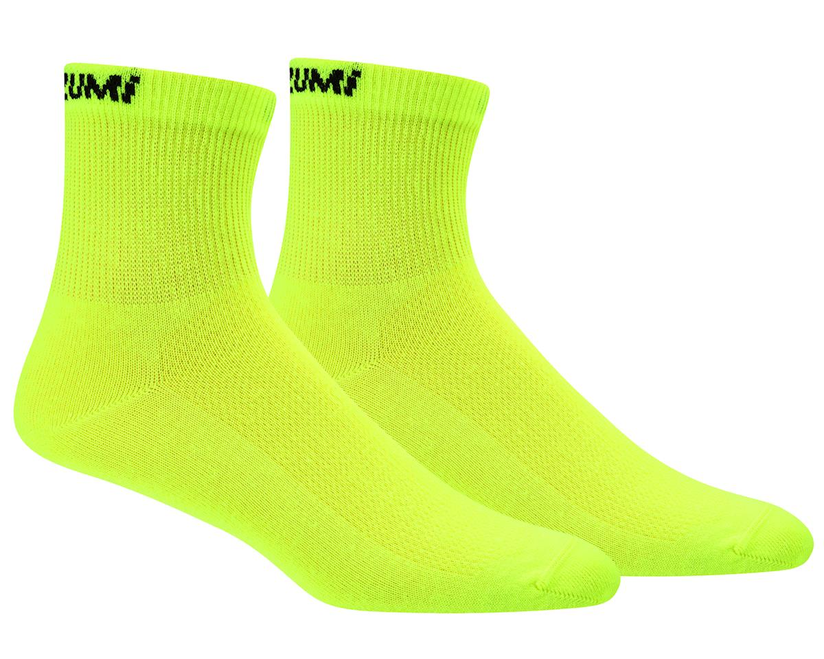 Pearl Izumi Attack Sock (Screaming Yellow) (M)