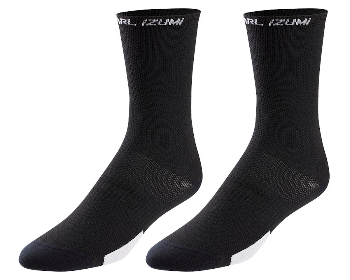 Pearl Izumi Men's ELITE Tall Sock (Core Black)