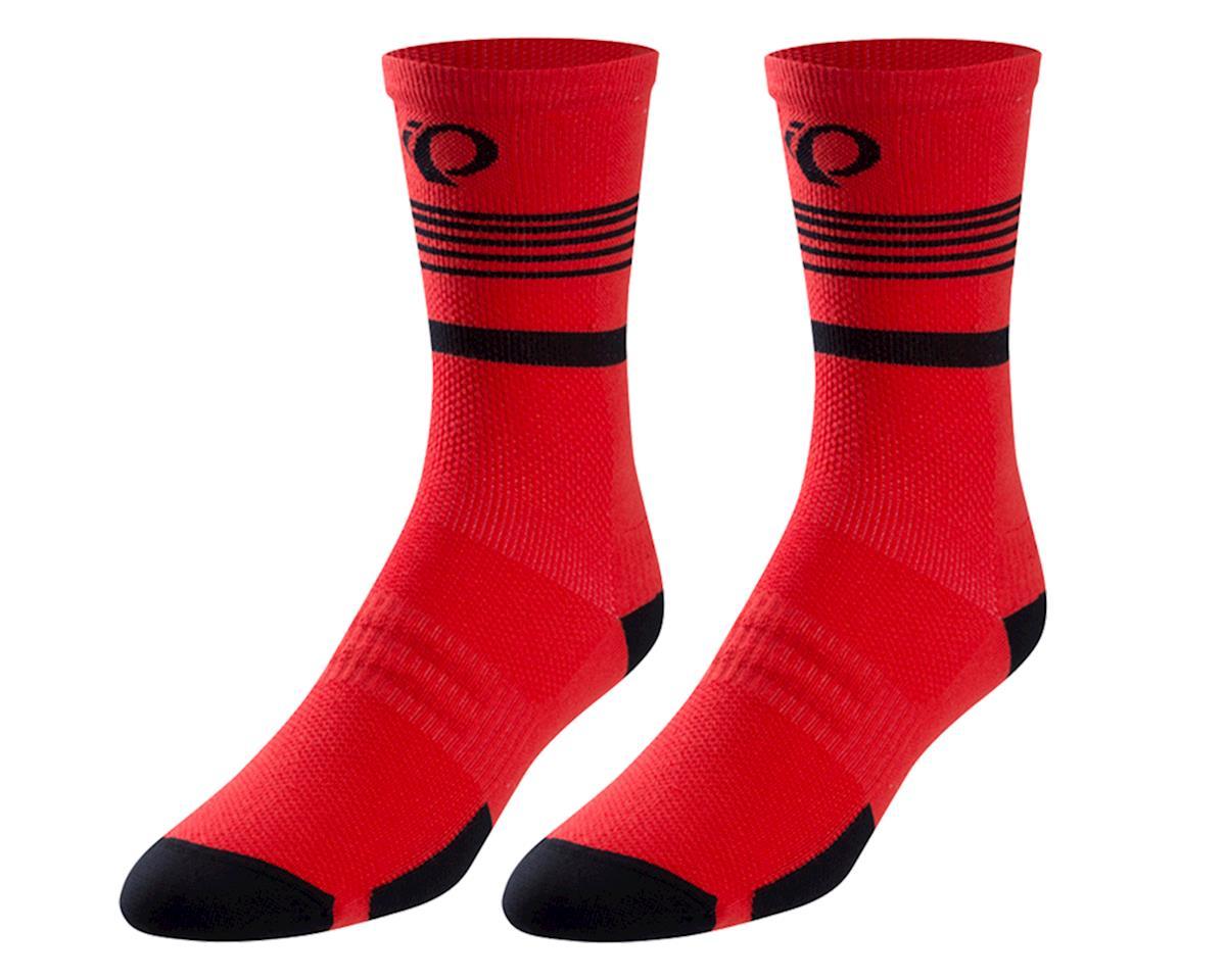 Pearl Izumi Elite Tall Sock (Rogue Red Diffuse) (M)