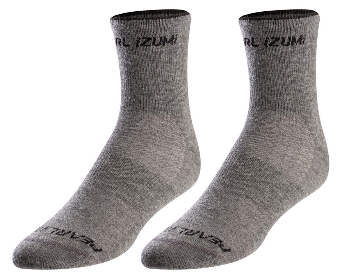 Pearl Izumi Merino Wool Sock (Smoked Pearl Core)