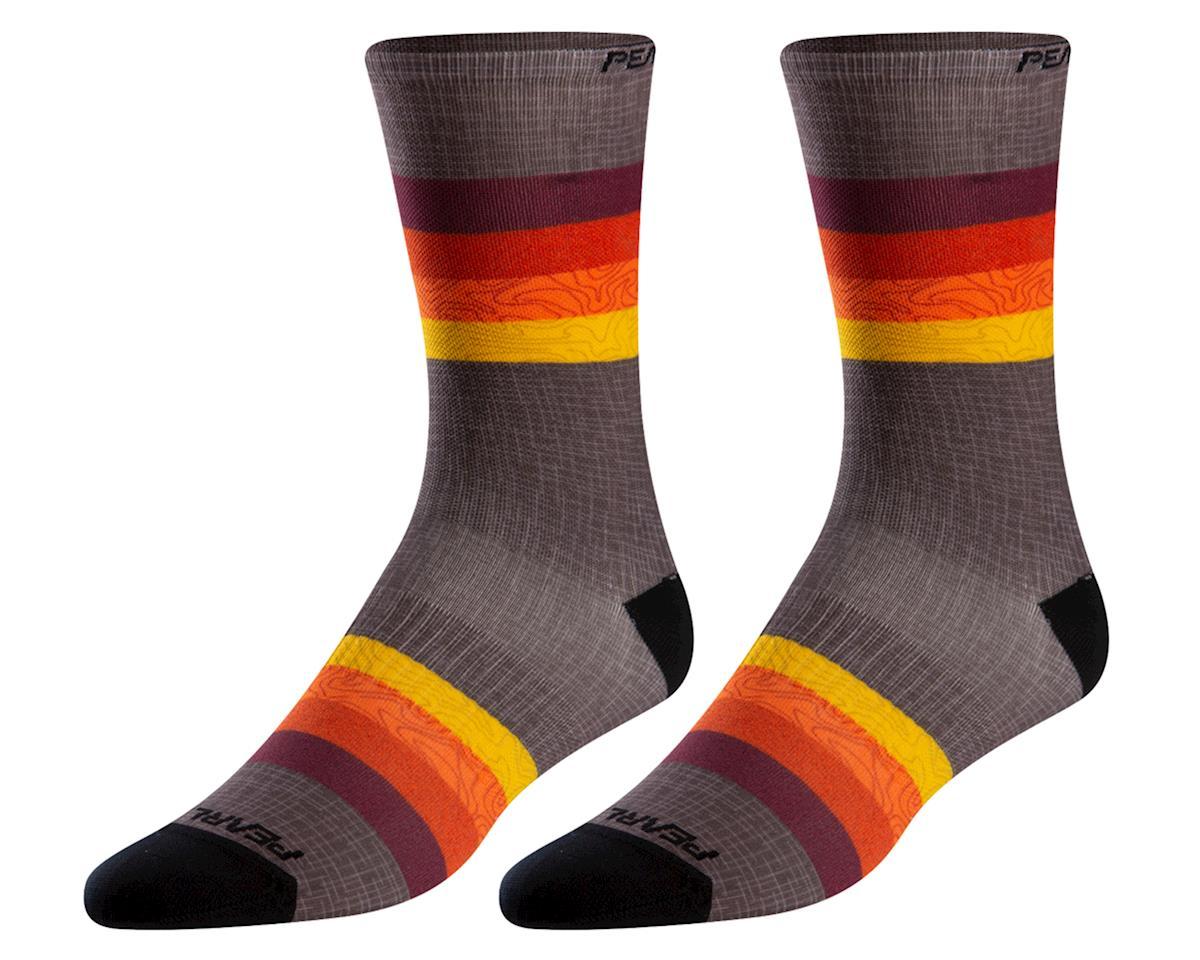 Pearl Izumi PRO Tall Sock (Lava Topo Aspect) (L)