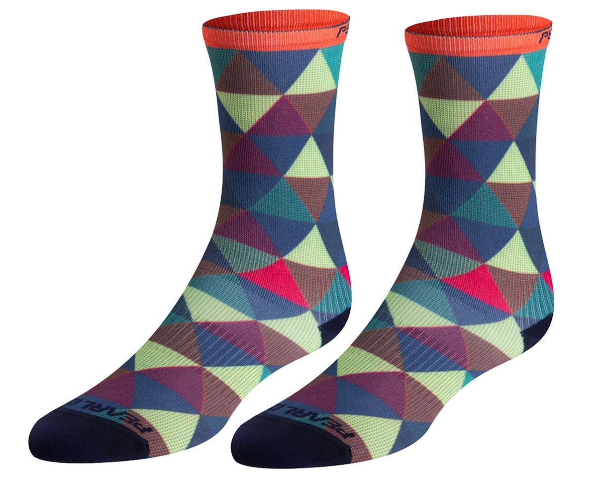 Pearl Izumi PRO Tall Sock (Geometric Triangle) (M)