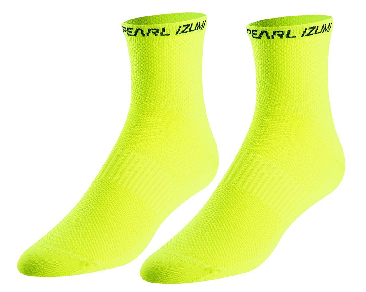 Pearl Izumi Elite Tall Sock (Screaming Yellow) (M)