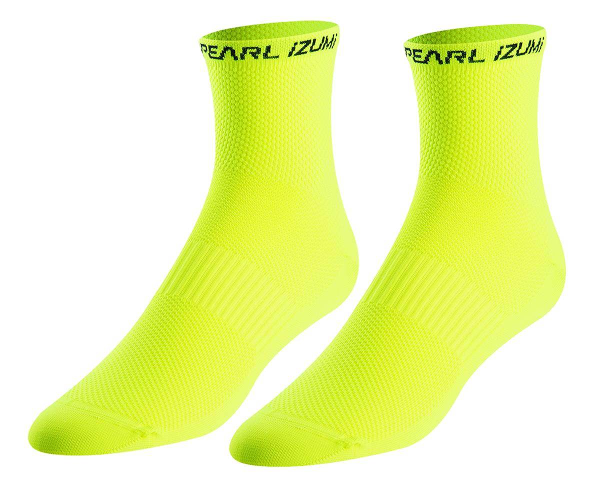 Pearl Izumi Elite Tall Sock (Screaming Yellow) (XL)