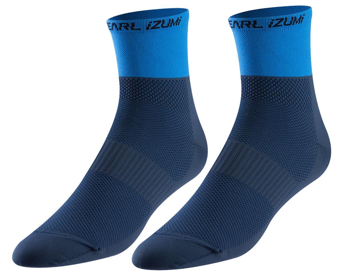 Pearl Izumi Elite Tall Sock (Navy/Lapis) (L)