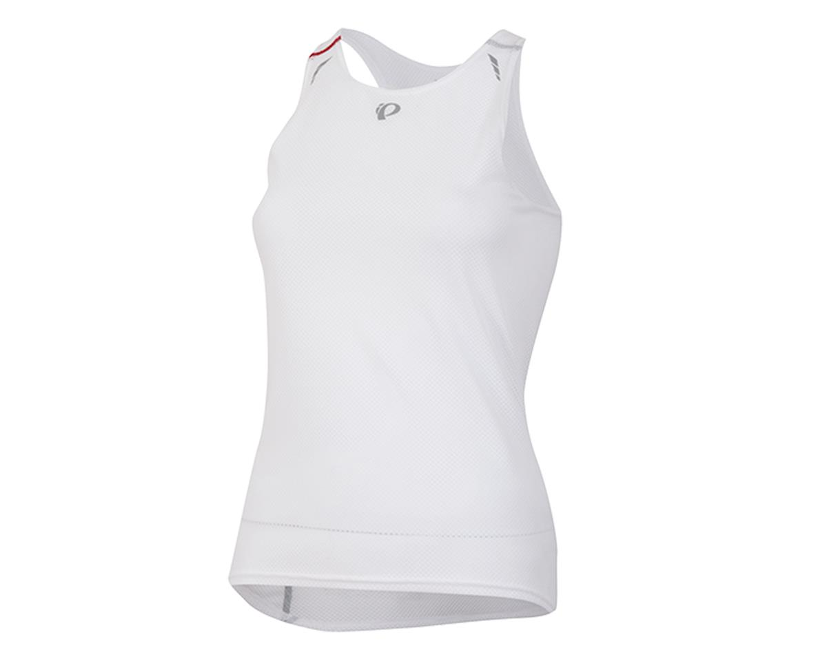 Pearl Izumi Transfer Women's Lite Racer Back Cycling Base Layer (White) (M)