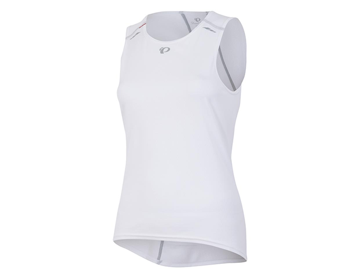 Pearl Izumi Transfer Women's Sleeveless Cycling Base Layer (White) (M)