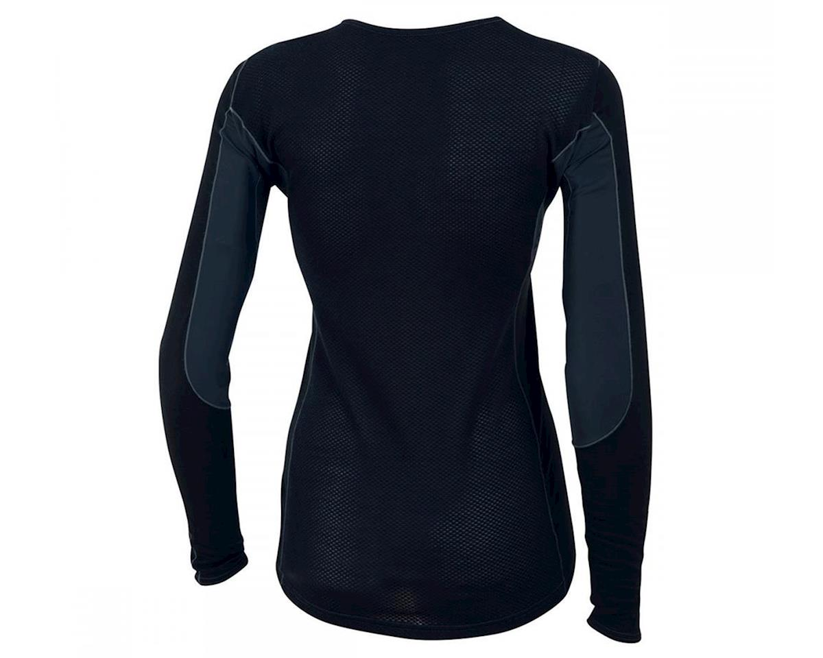 Pearl Izumi Transfer Women's Wool Long Sleeve Base Layer (Black)