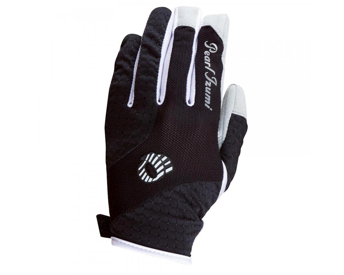 Pearl Izumi Elite Gel Women's Full Finger Bike Gloves (Black) (XL)
