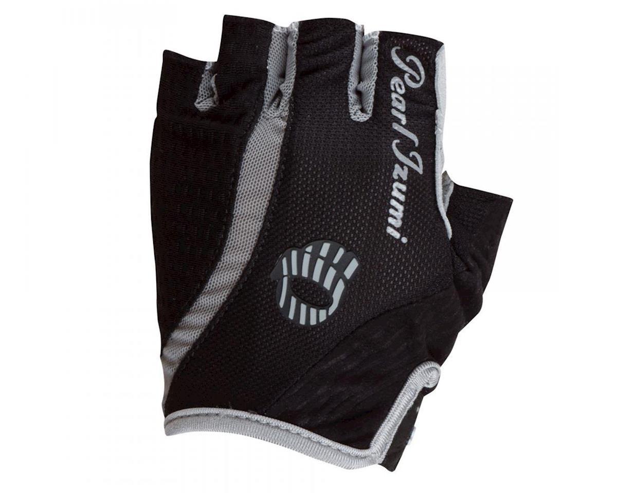 Pearl Izumi Elite Gel-Vent Women's Short Finger Bike Gloves (Black)
