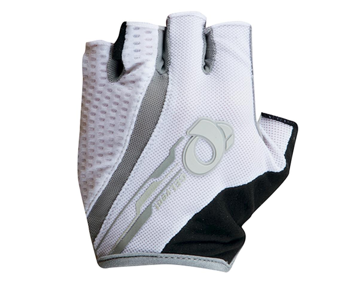 Pearl Izumi Elite Gel-Vent Women's Short Finger Bike Gloves (White)