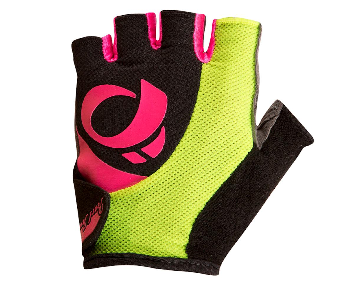 Pearl Izumi Select Women's Glove (Black/Screaming Pink) (L)