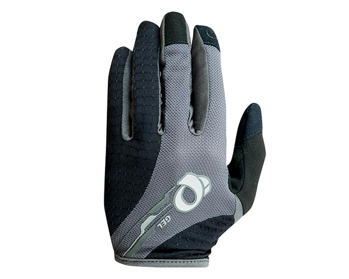 Pearl Izumi Elite Gel Women's Full Finger Bike Gloves (Black/Gray) (L)