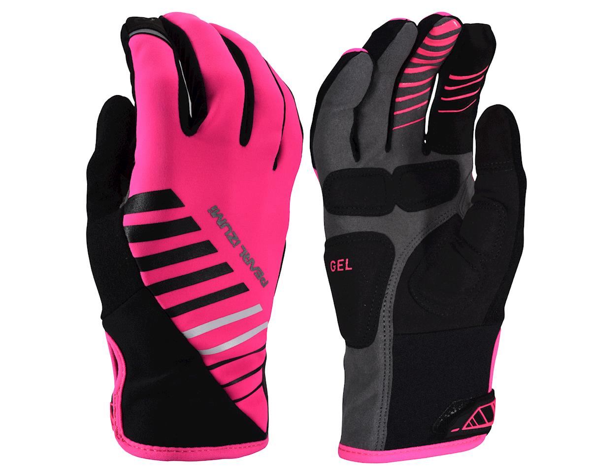 Pearl Izumi Women's Cyclone Gel Gloves (Screaming Pink) (L)