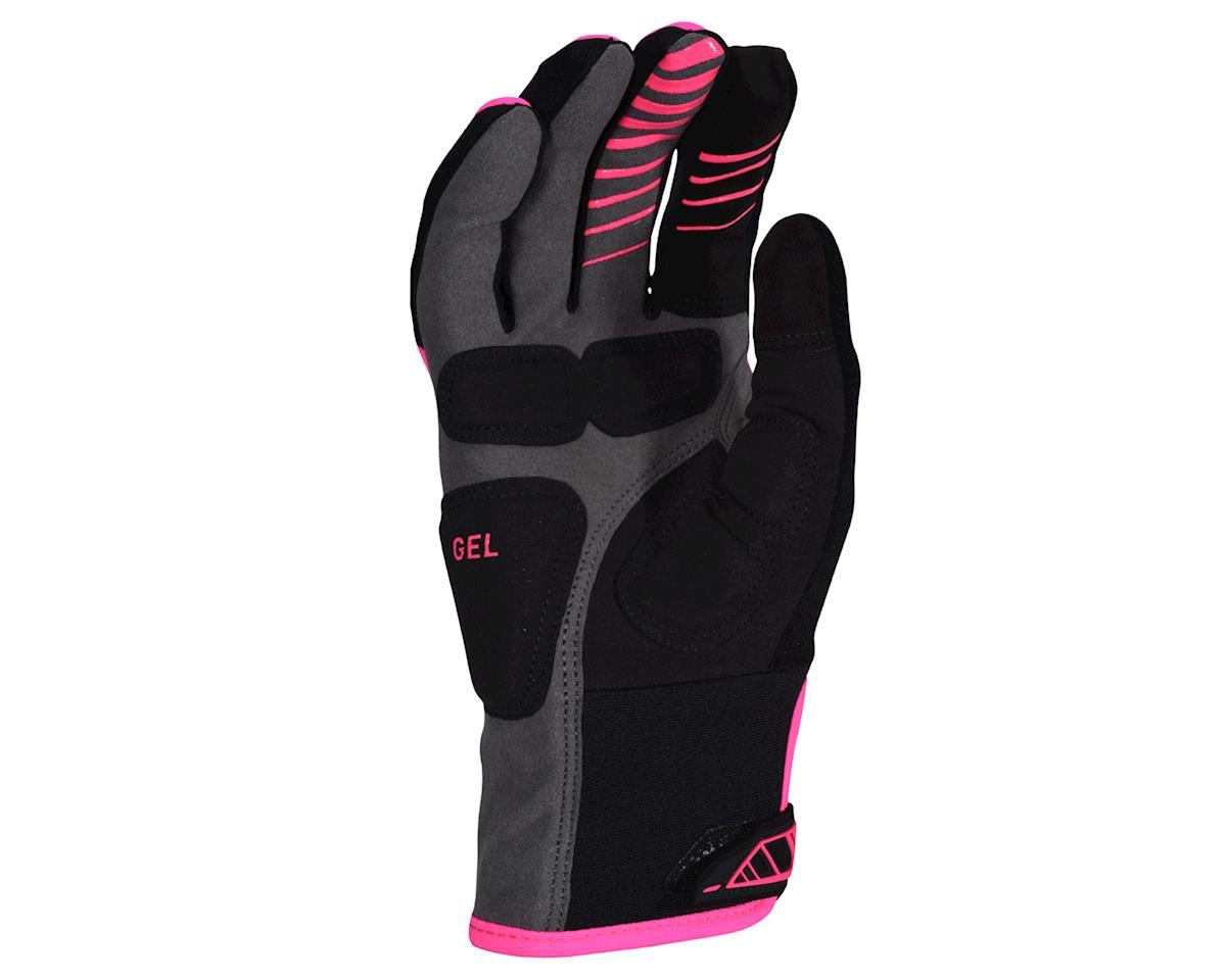 Pearl Izumi Women's Cyclone Gel Gloves (Screaming Pink) (XL)