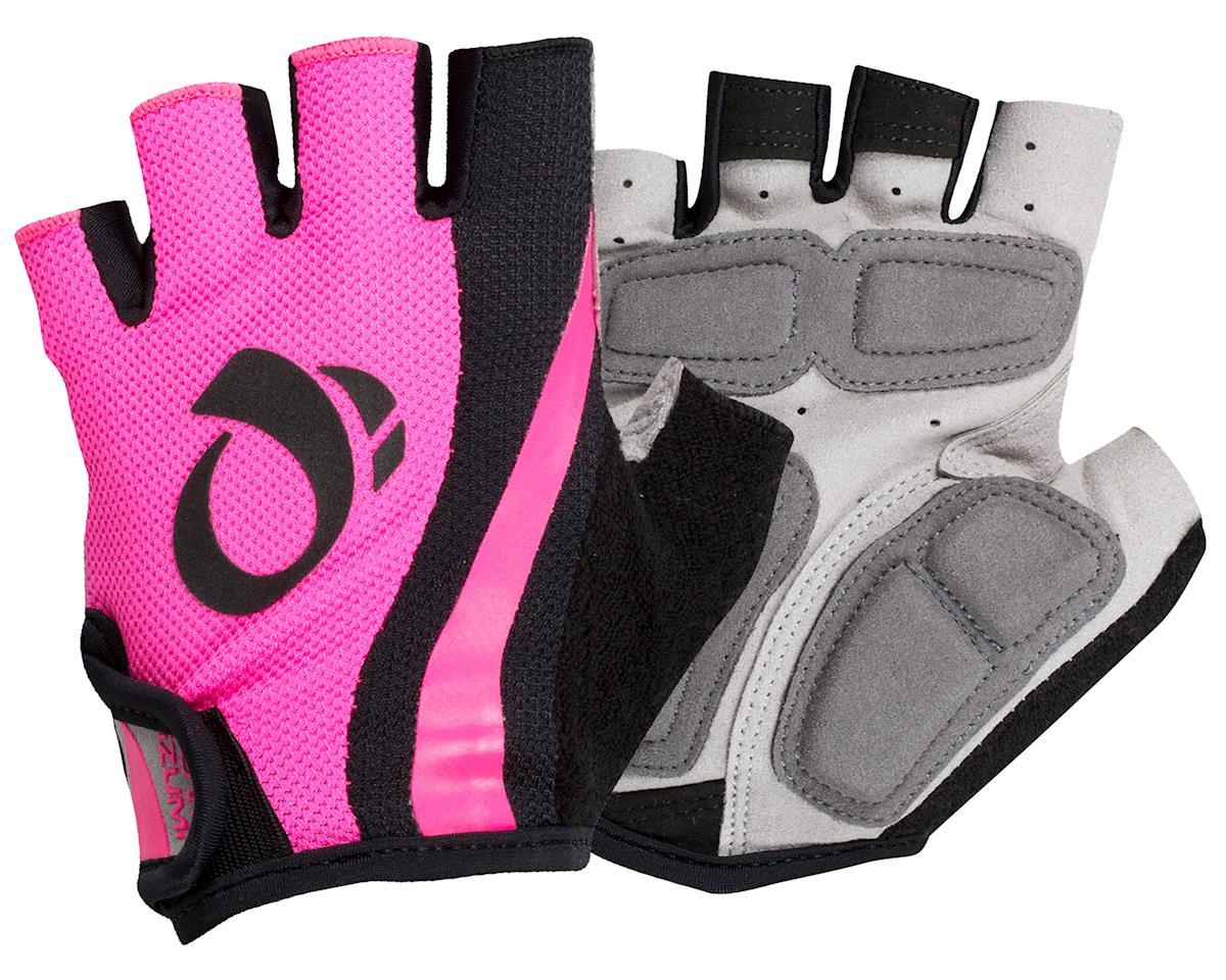Pearl Izumi Women's Select Short Finger Cycling Glove (Pink/Black) (L)