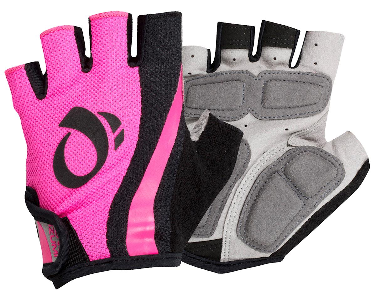 Pearl Izumi Women's Select Short Finger Cycling Glove (Pink/Black) (XL)