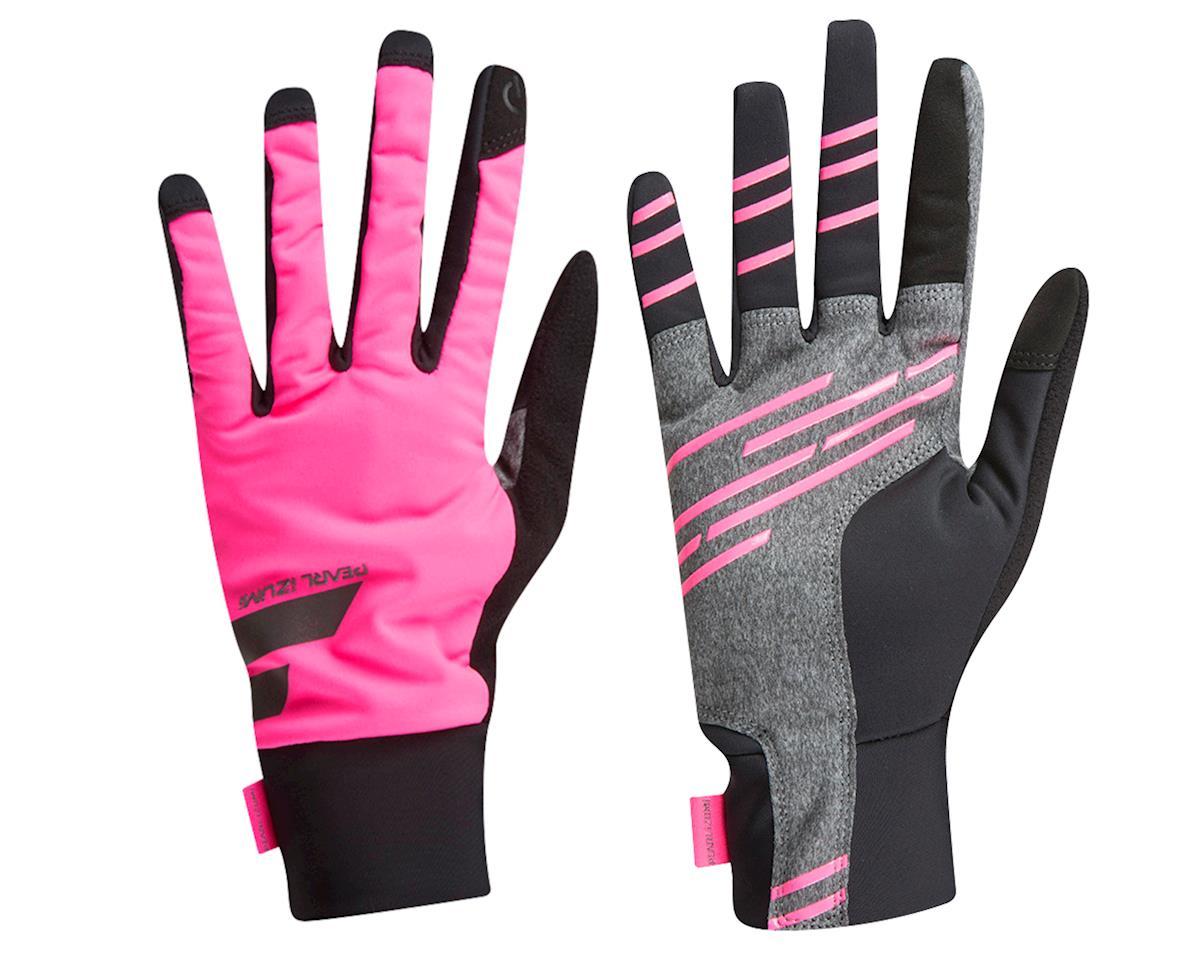 Pearl Izumi Women's Escape Softshell Glove (Pink/Black) (L)