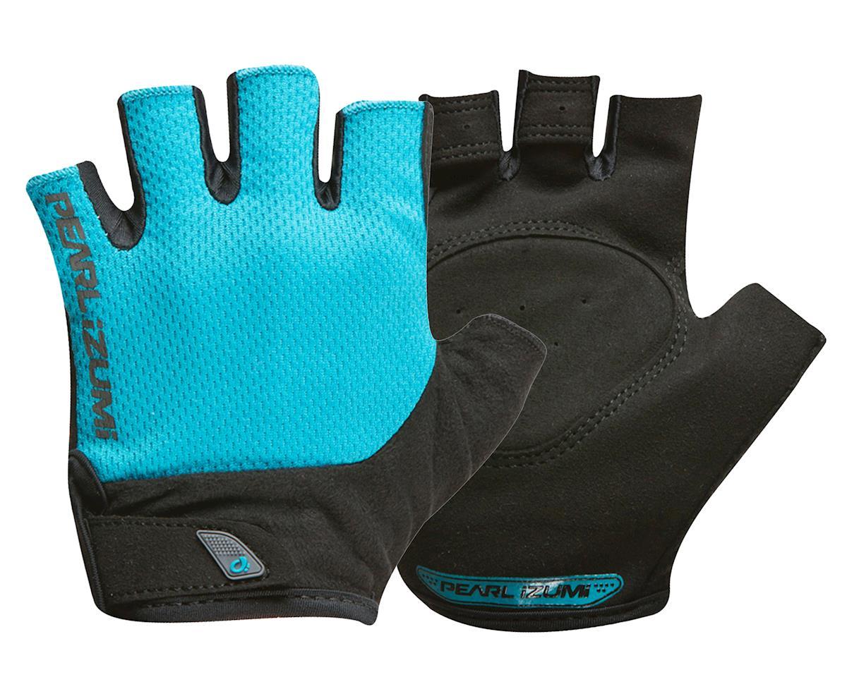 Pearl Izumi Women's Attack Cycling Gloves (Breeze Blue) (XL)