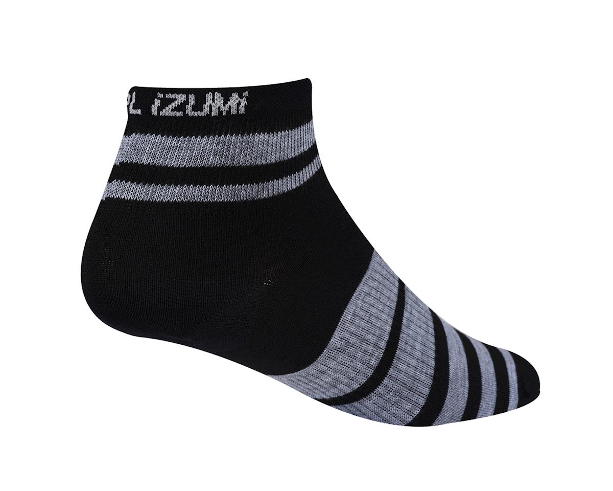 Pearl Izumi Women's Elite Socks (Black/Grey) (Large)