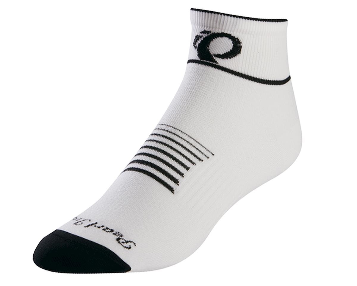 Pearl Izumi Elite Women's Cycling Socks (White/Black)