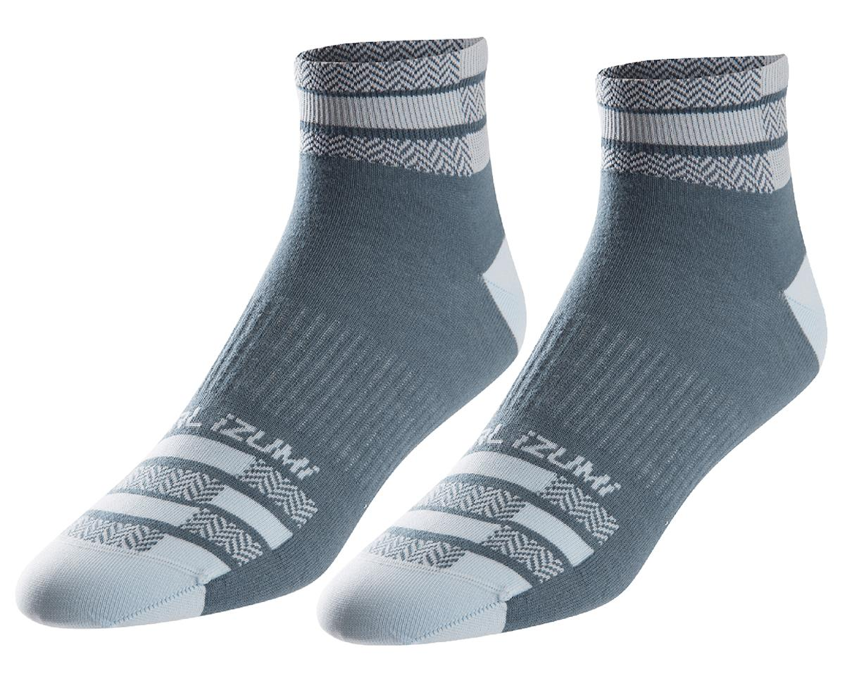 Pearl Izumi Women's Elite Sock (Blue Steel) (L)