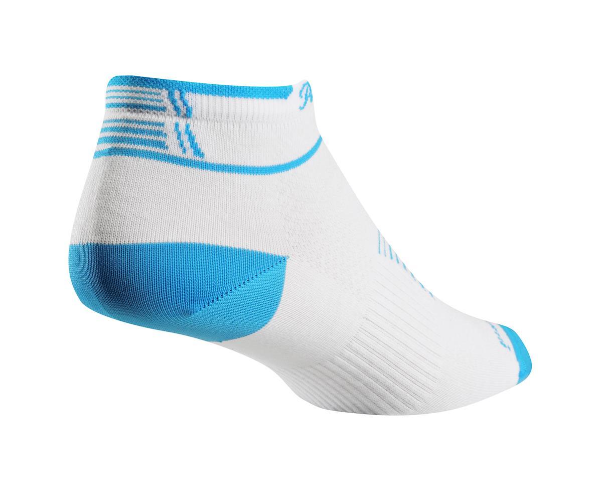 Pearl Izumi Women's ELITE Low Socks (Blue Atoll) (Small (35-38))