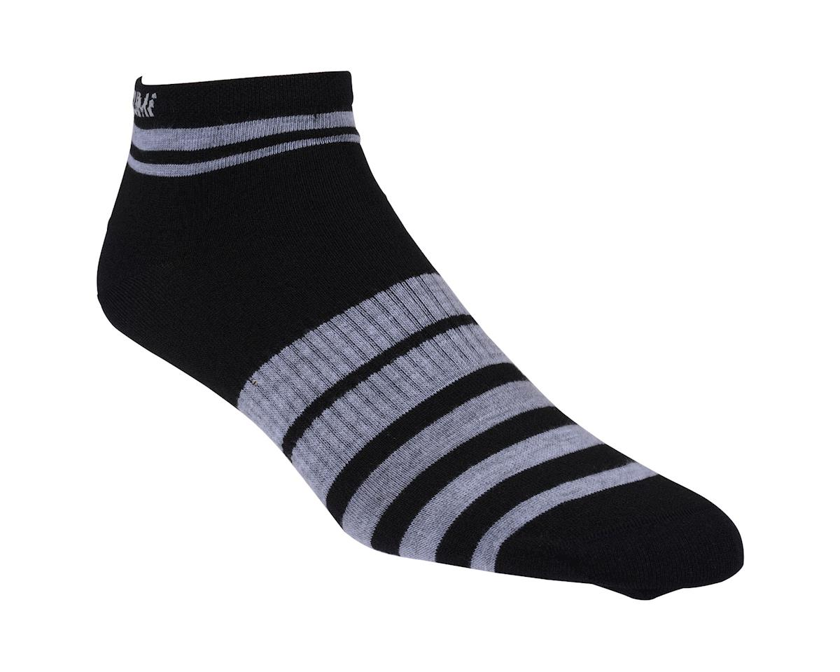 Pearl Izumi Women's Elite Low Socks (Black) (Large)