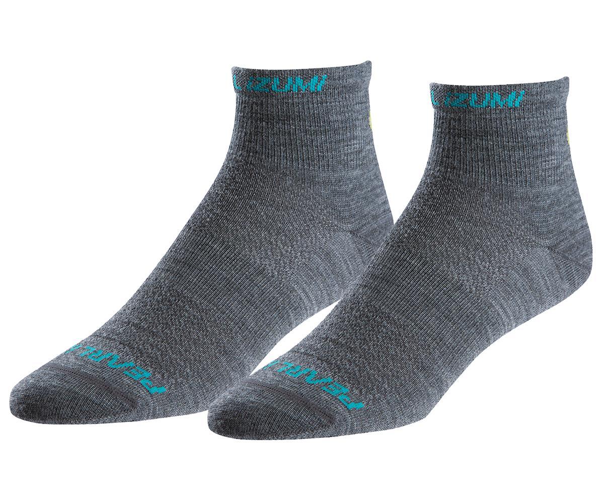 Pearl Izumi Women's Elite Wool Sock (Shadow Grey) (L)