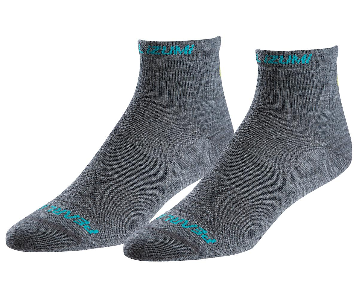 Pearl Izumi Women's Elite Wool Sock (Shadow Grey) (M)