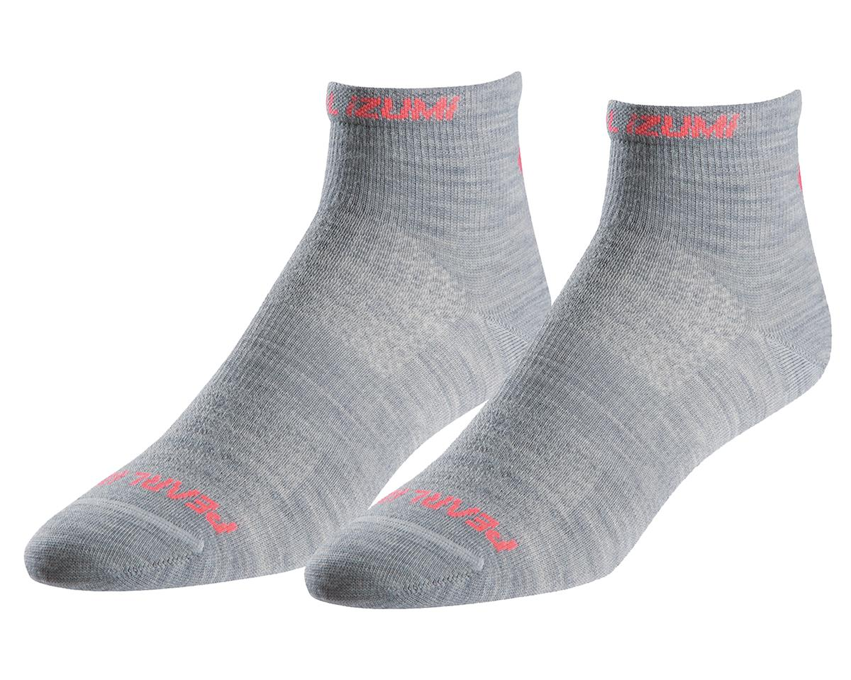 Pearl Izumi Women's Elite Wool Sock (Limestone) (M)