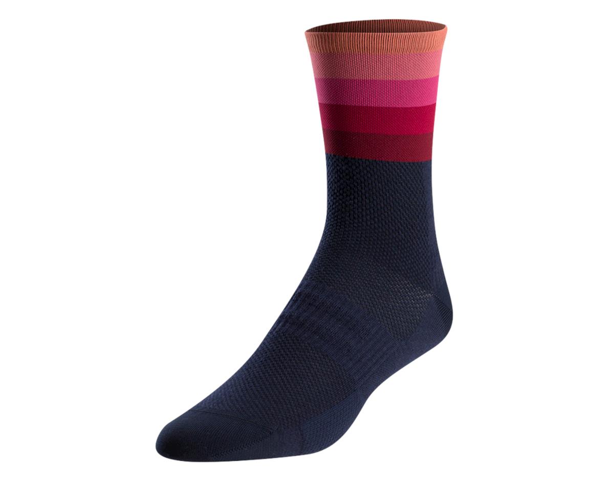 Pearl Izumi Women's Elite Tall Sock (Sugar Coral Descent)