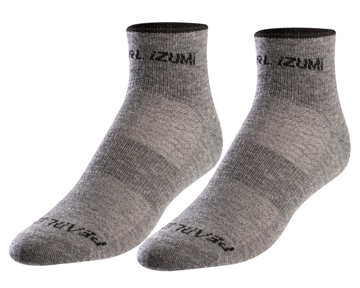 Pearl Izumi Women's Merino Wool Sock (Grey) (S)