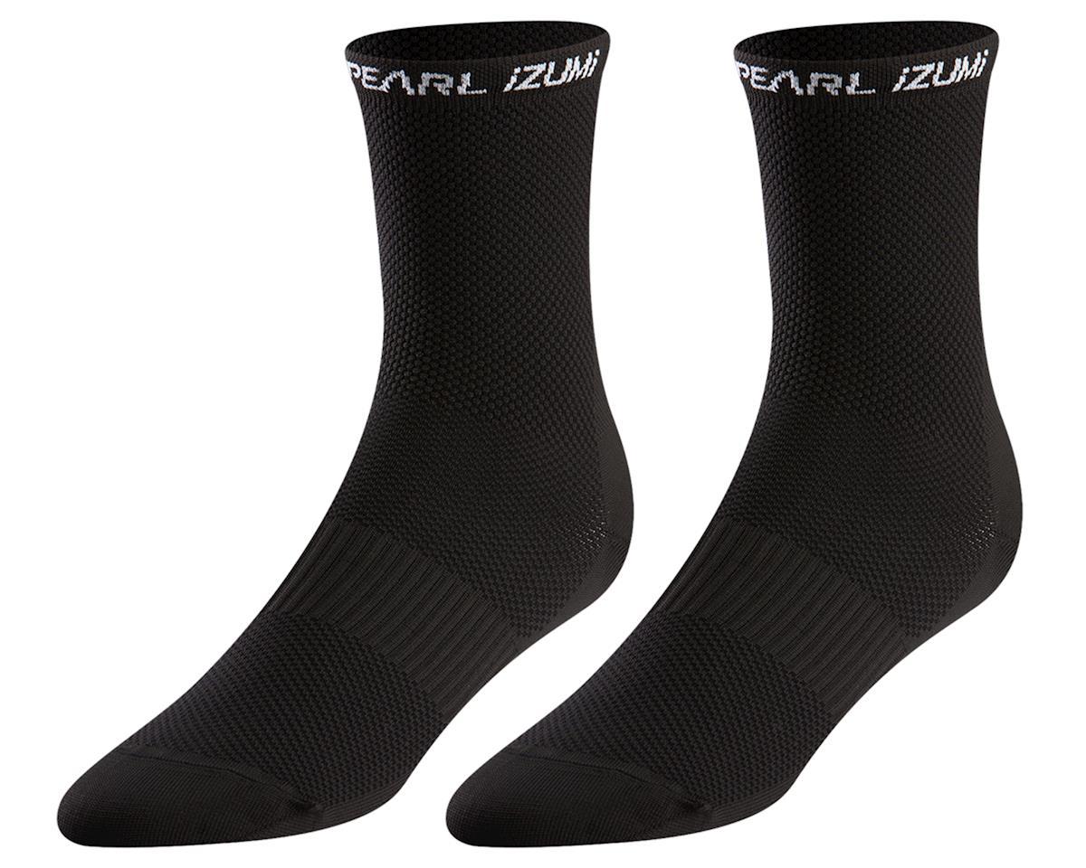 Pearl Izumi Women's Elite Tall Socks (Black) (L)