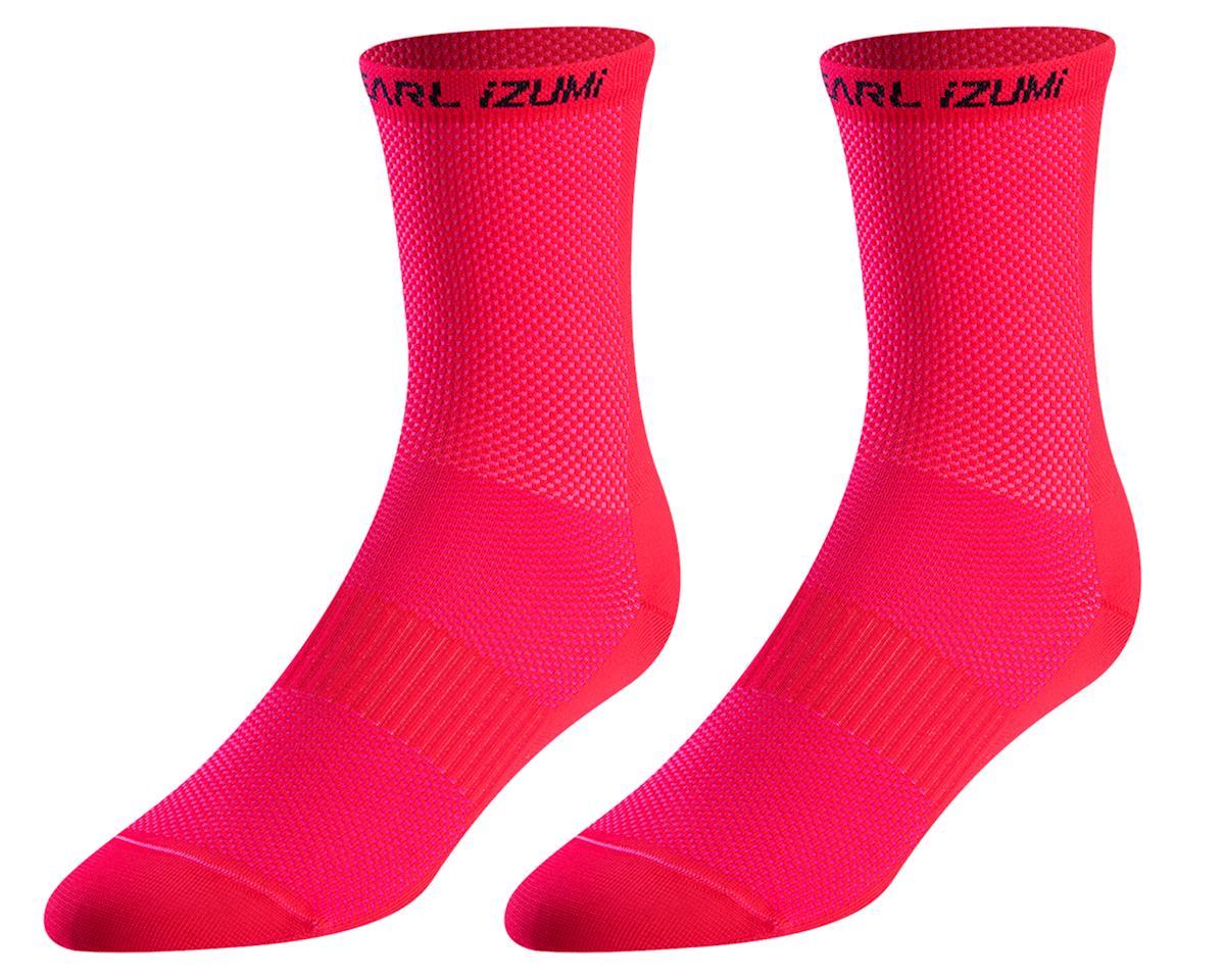 Pearl Izumi Women's Elite Tall Socks (Atomic Red) (L)