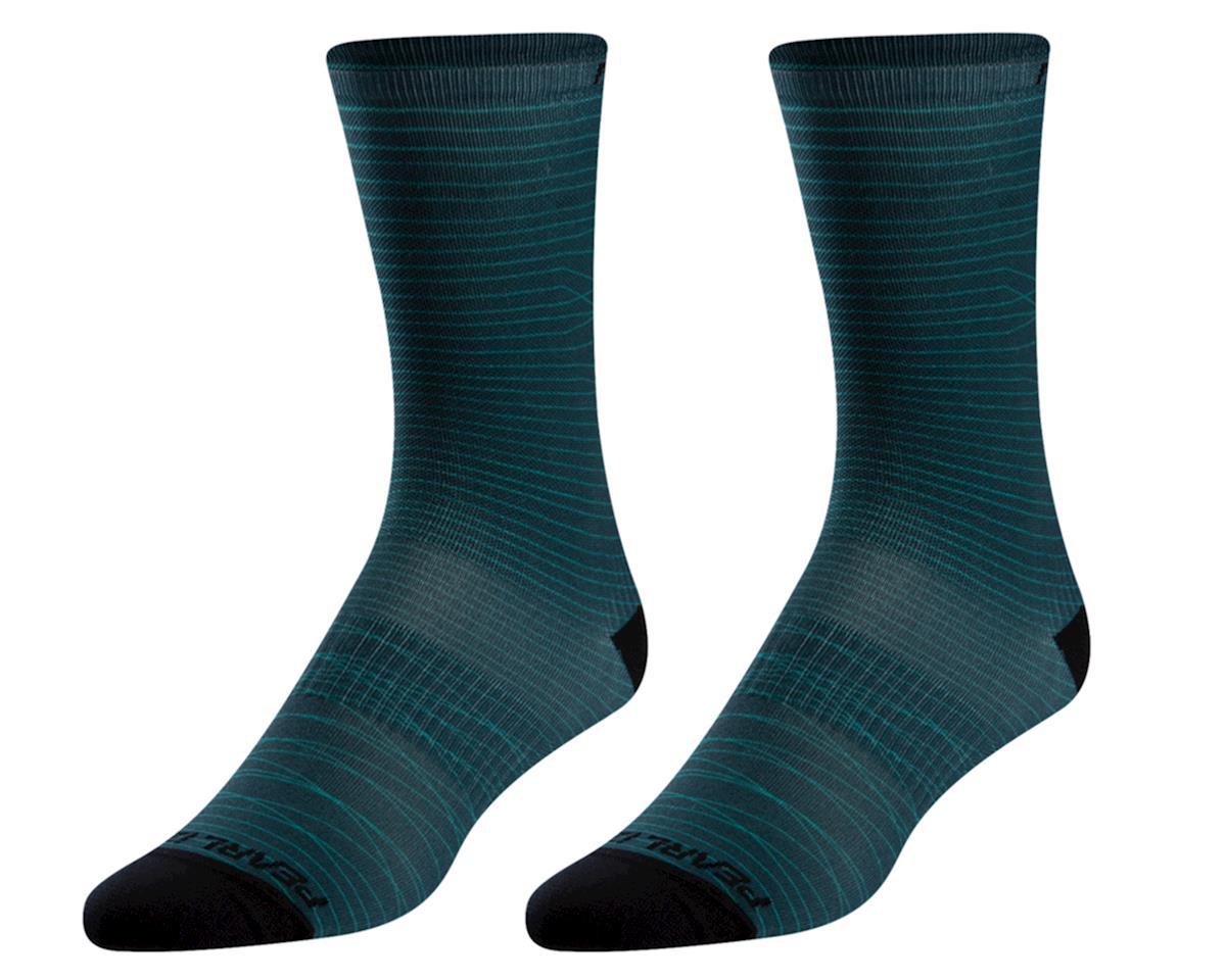 Pearl Izumi Women's PRO Tall Sock (Pine/Malachite Frequency) (M)