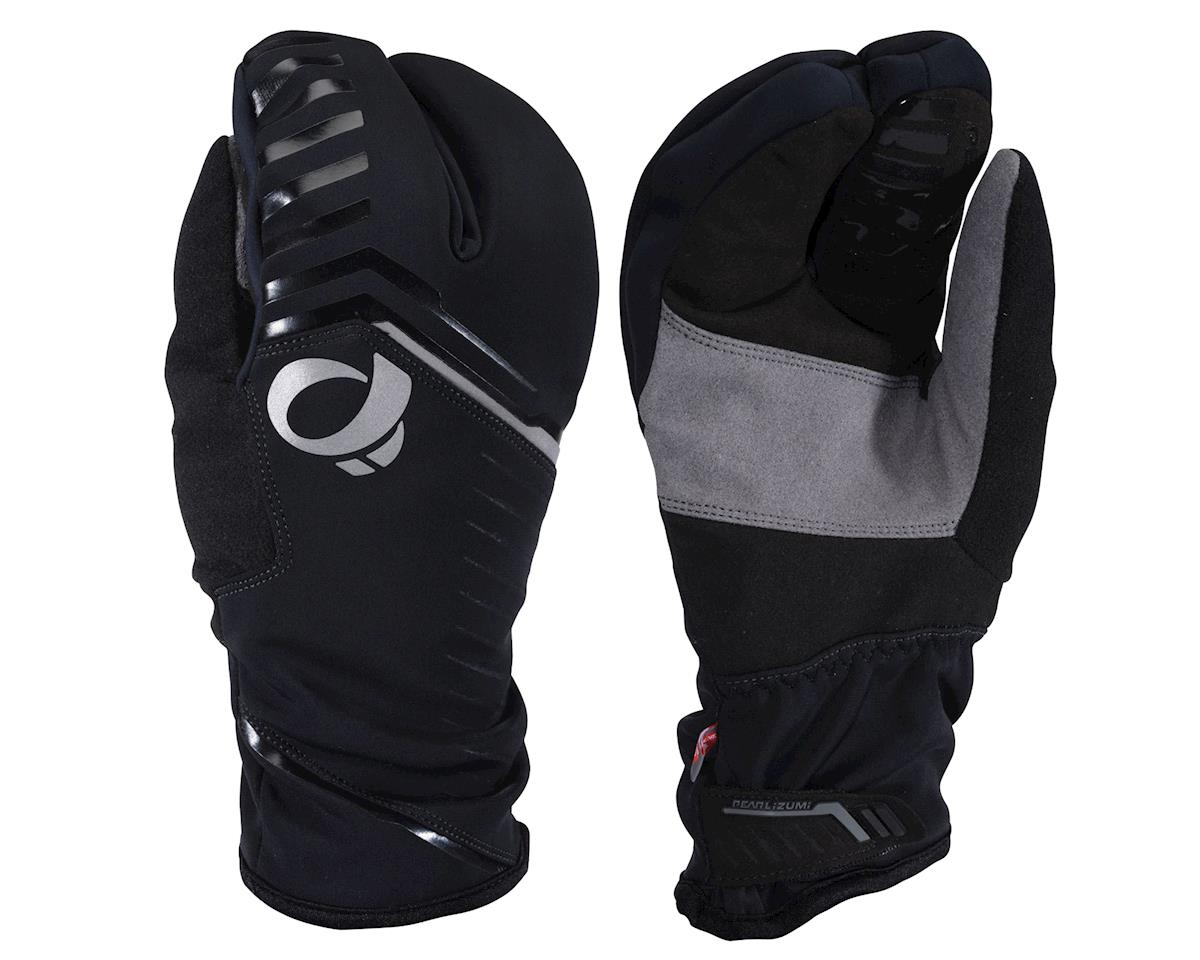 Image 1 for Pearl Izumi PRO AmFIB Lobster Gloves (Black) (XS) (S)
